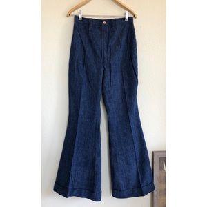 Vintage 70's Wrangler Bell Bottom Trouser Jeans